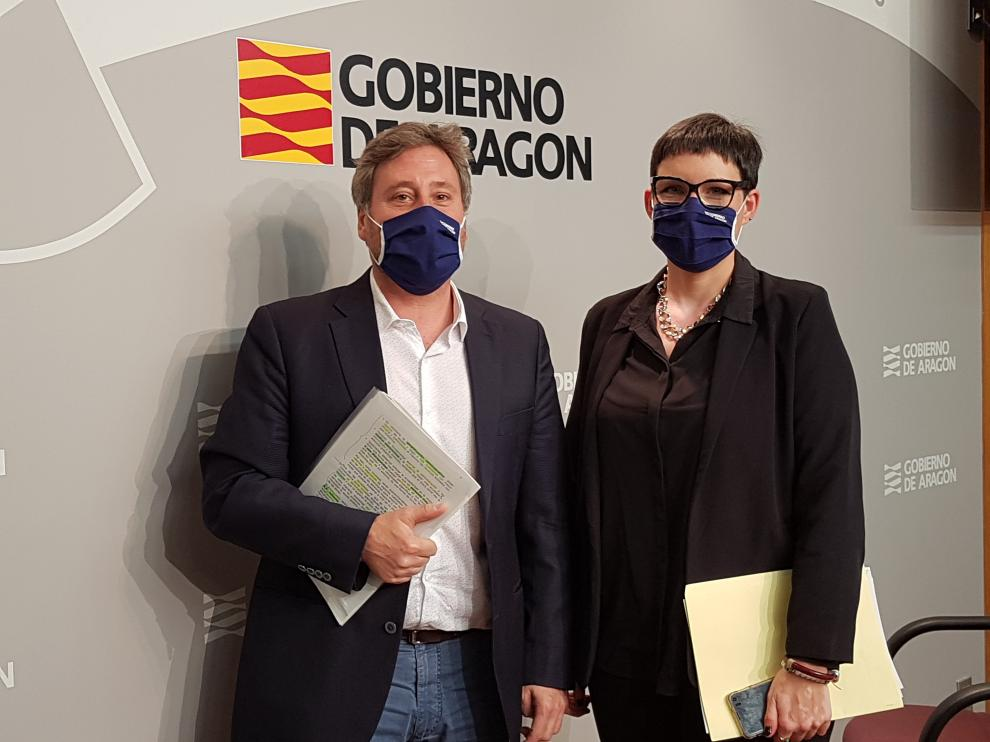 José Luis Soro y Verónica Villagrasa