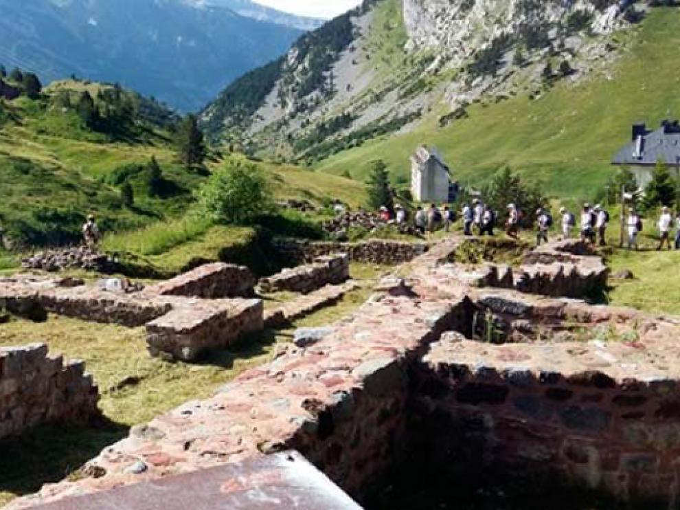 Camino de Santiago francés a su paso por Aragón