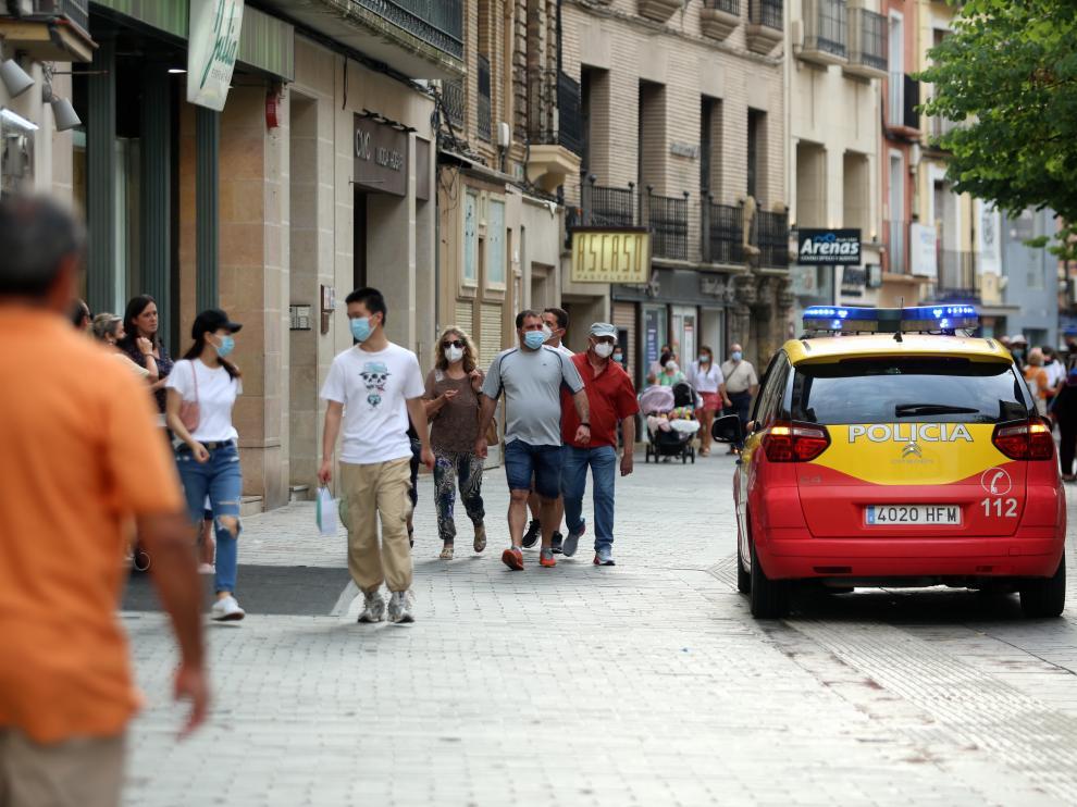 Prudencia en la ciudad de Huesca