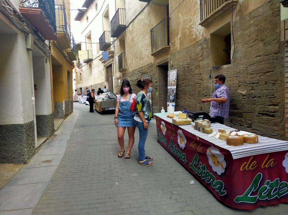 Artesanos y productores locales fueron los protagonistas de la feria de San Esteban.