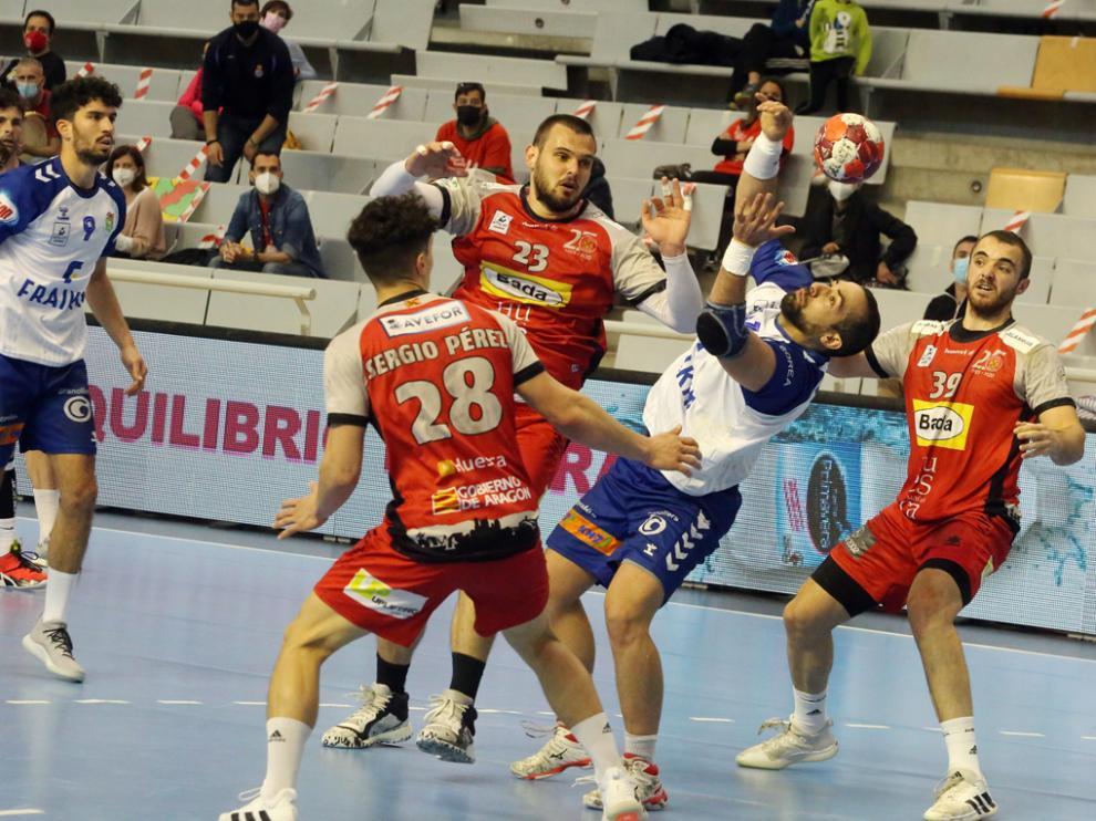 Imagen del partido Bada Huesca-Granollers.