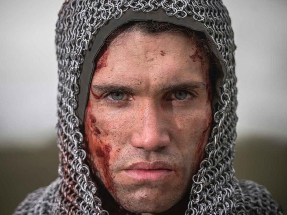 Jaime Lorente interpreta a 'El Cid' en la serie de Amazon Prime Video.