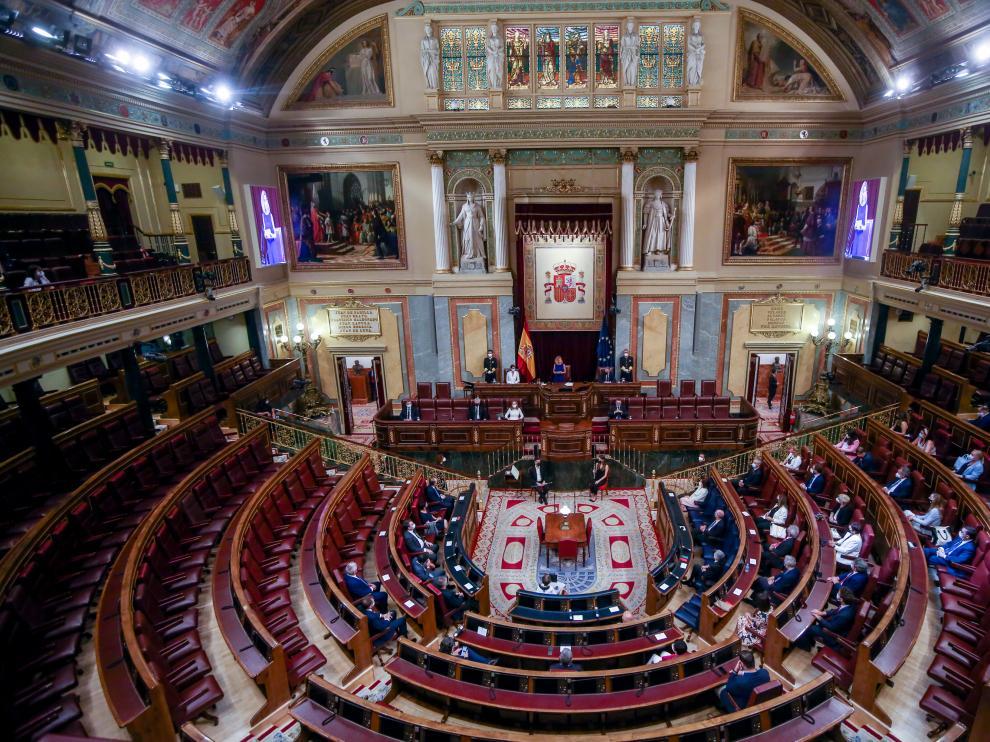Acto institucional celebrado en el Congreso en recuerdo y homenaje de las víctimas del terrorismo.