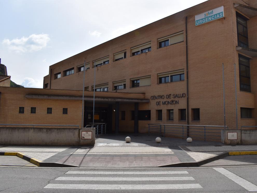 Foto del Centro de Salud de Monzón.
