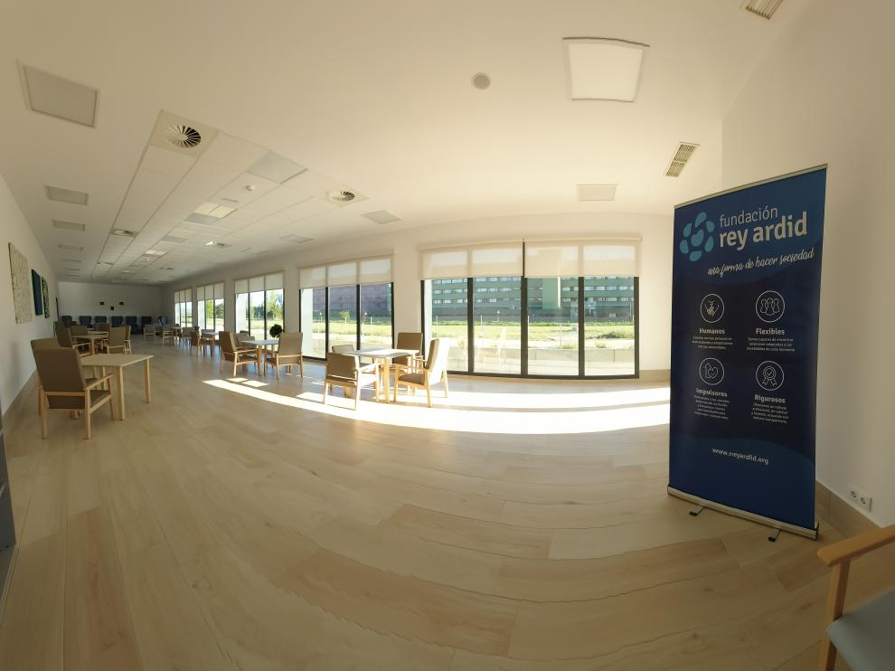 Residencia y centro de día de la Fundación Rey Ardid en Huesca, inaugurados el pasado marzo.