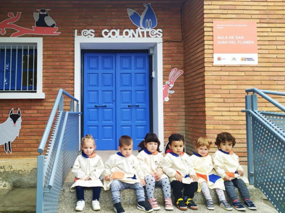 San Juan del Flumen ha estrenado este curso un aula de la Escuela Infantil Comarcal.