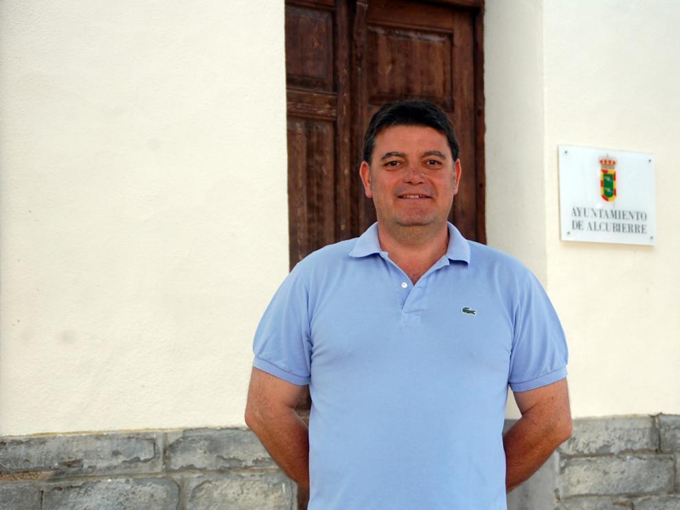 Álvaro Amador, alcalde de Alcubierre