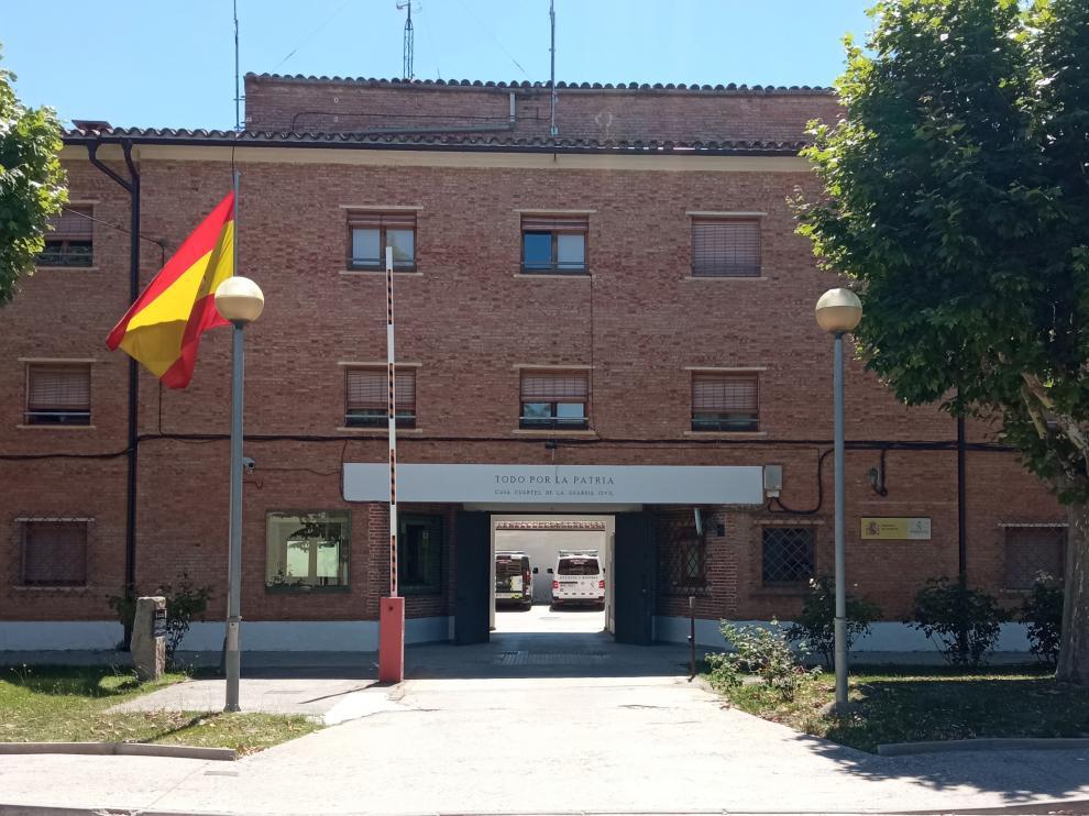 Cuartel de la Guardia Civil de Barbastro