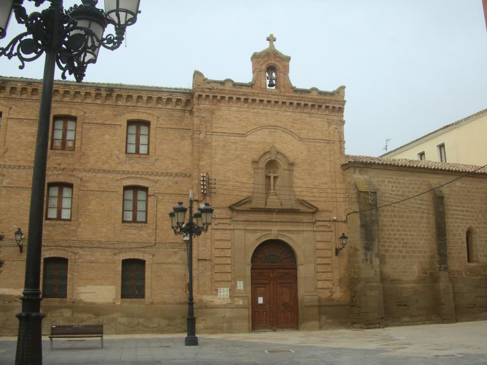 Fachada principal del Seminario de Huesca.