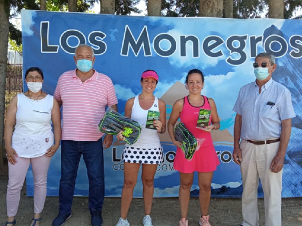 Foto de las ganadoras Cervera´s