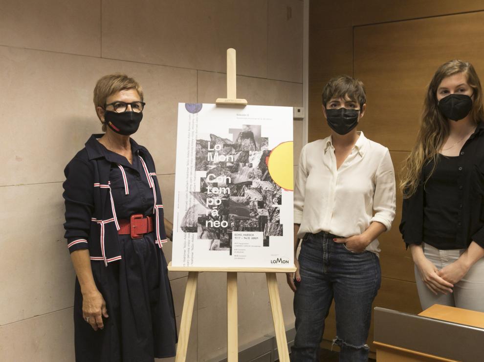 Maribel de Pablo, Elena López y Adela Moreno han presentado Lo Mon Contemporáneo