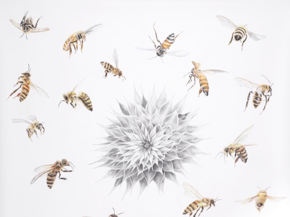 """""""Todos afanados como insectos procurando una compañía"""", de Lina Vila"""