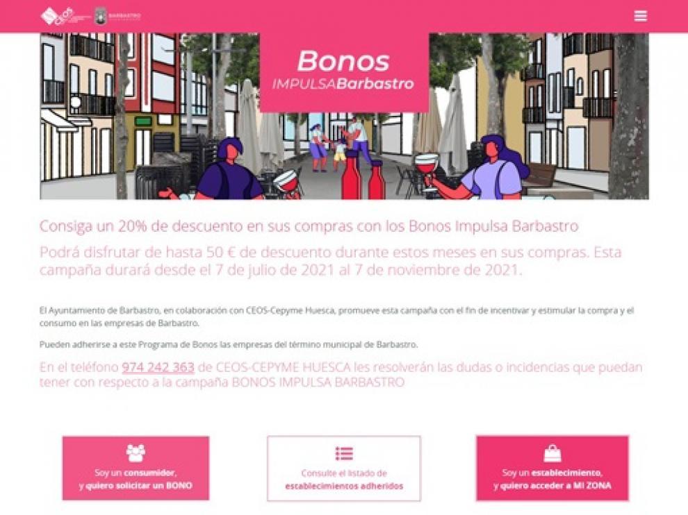 Ya se pueden adherir las empresas a Bonos Impulsa Empresas de Barbastro