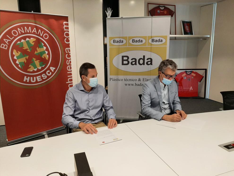 Lanceta y Giné firman el convenio para la próxima temporada