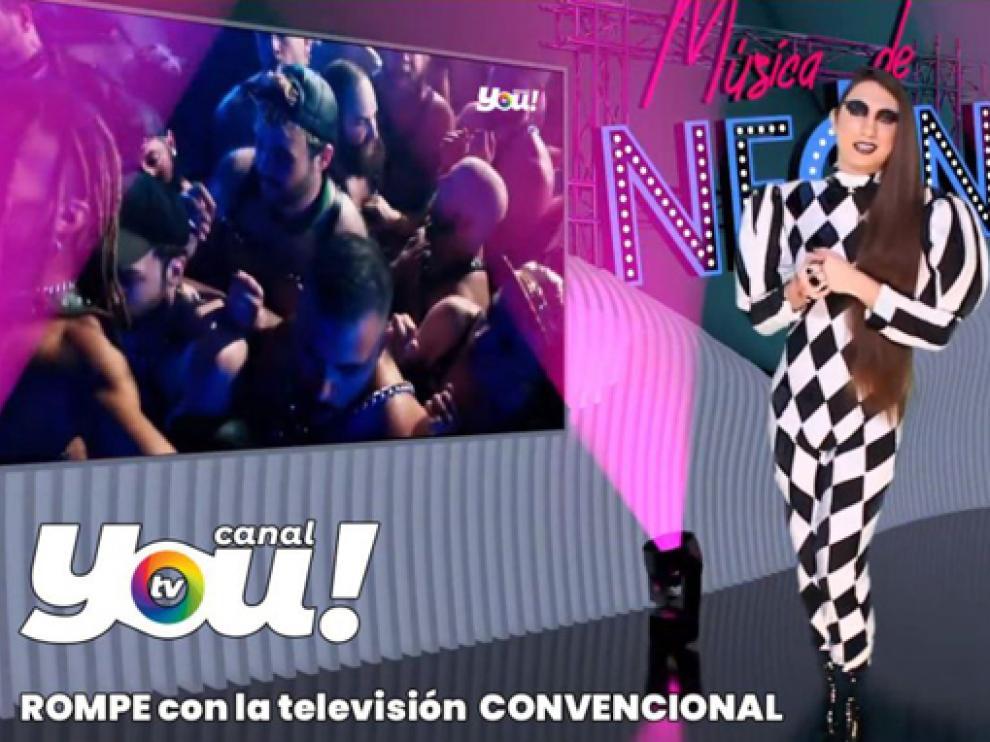 Alex Guirado es uno de los presentadores de Canal YOU!