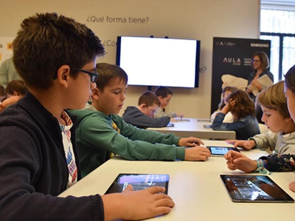 Aragón se sumará al convenio entre el Ministerio de Educación y Samsung