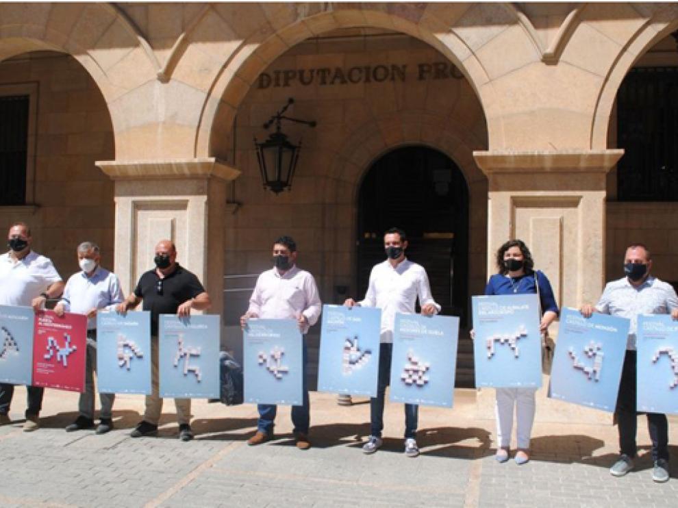 La provincia de Huesca seguirá estando representada en el evento, aunque este año a través de los castillos de Monzón y Fraga