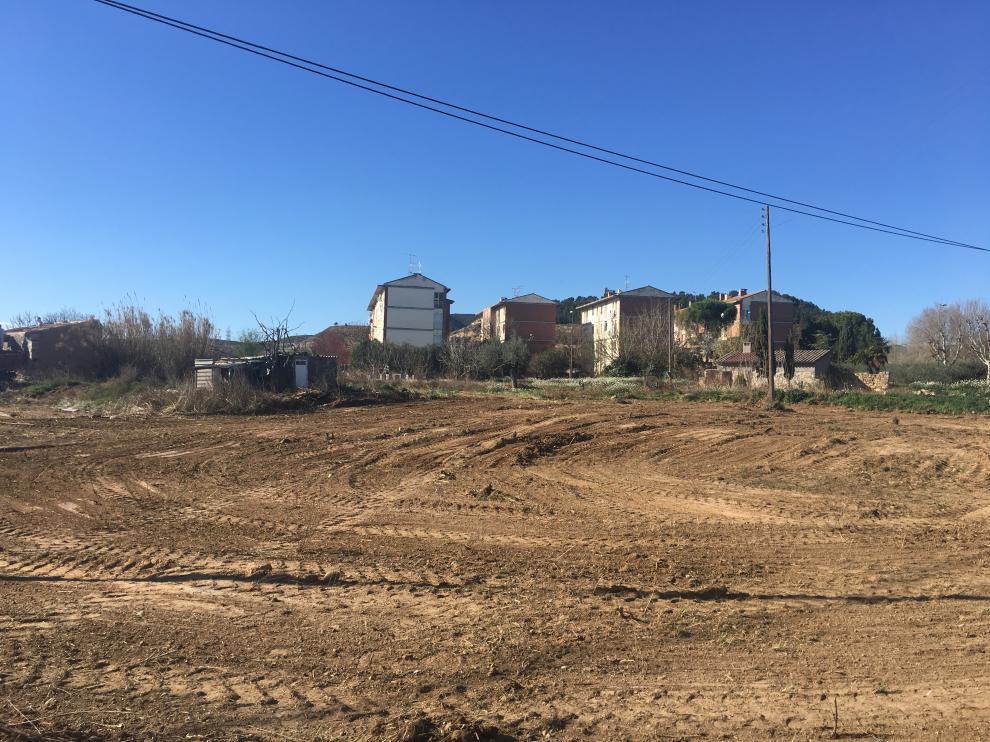 Zona de Nueva Fraga donde se plantea la construcción de un centro de FP Dual, un instituto y un centro de educación especial.