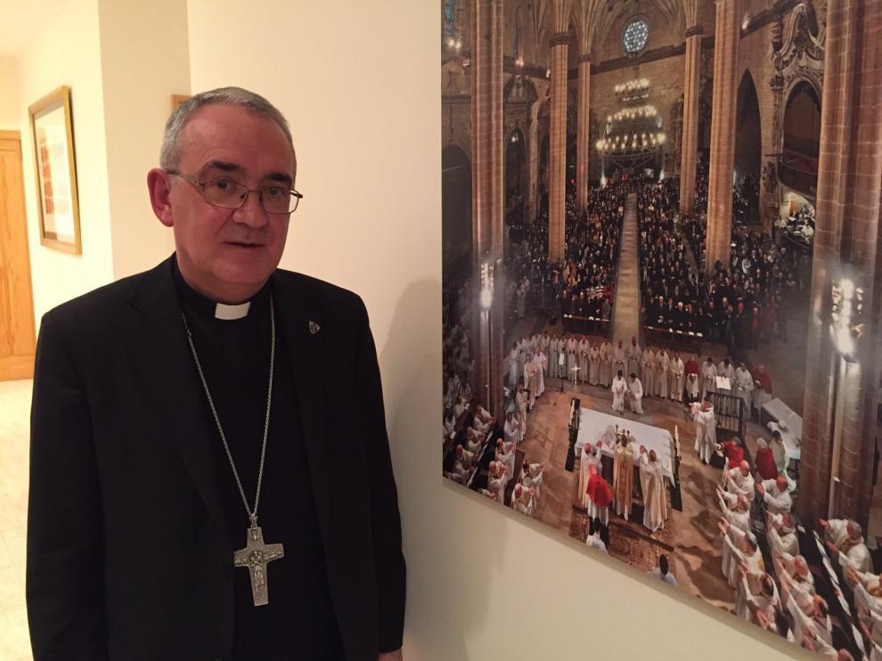 Ángel Pérez, obispo de la Diócesis de Barbastro-Monzón