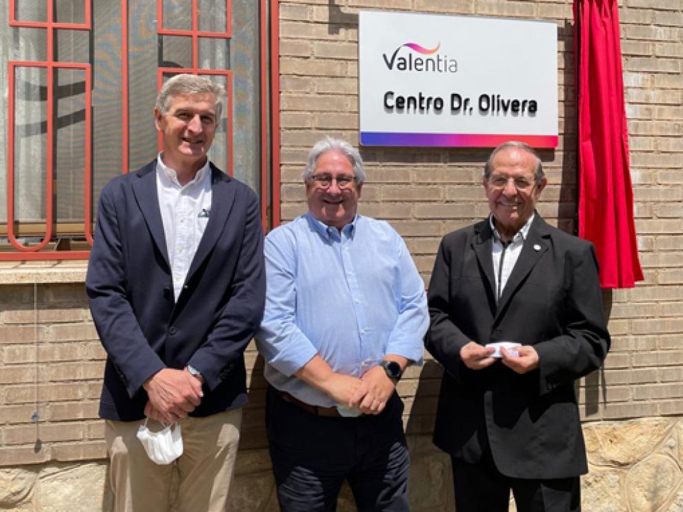 Centro Doctor Olivera de Valentia inaugurado en Arascués