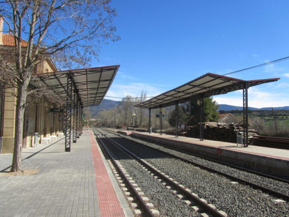 Estación de Ayerbe