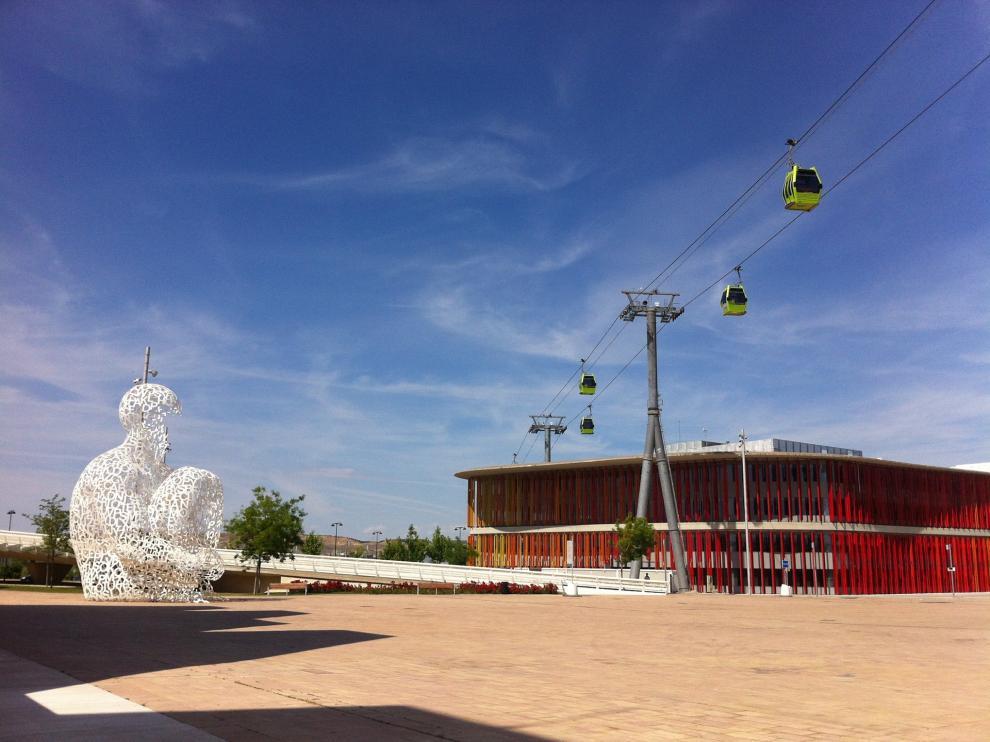 Oficinas de Acpua en el Parque del Agua Luis Buñuel en Zaragoza