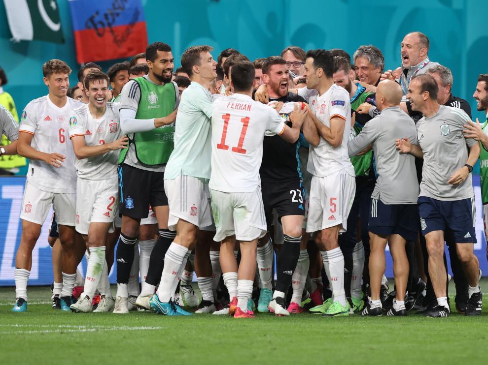 La actuación del portero español fue clave para pasar la ronda.
