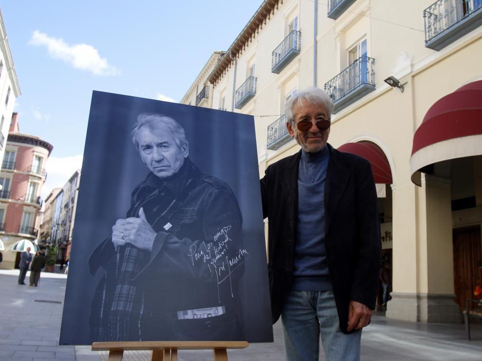José Sacristán recibió en 2018 el Premio Luis Buñuel del Festival de Cine de Huesca.