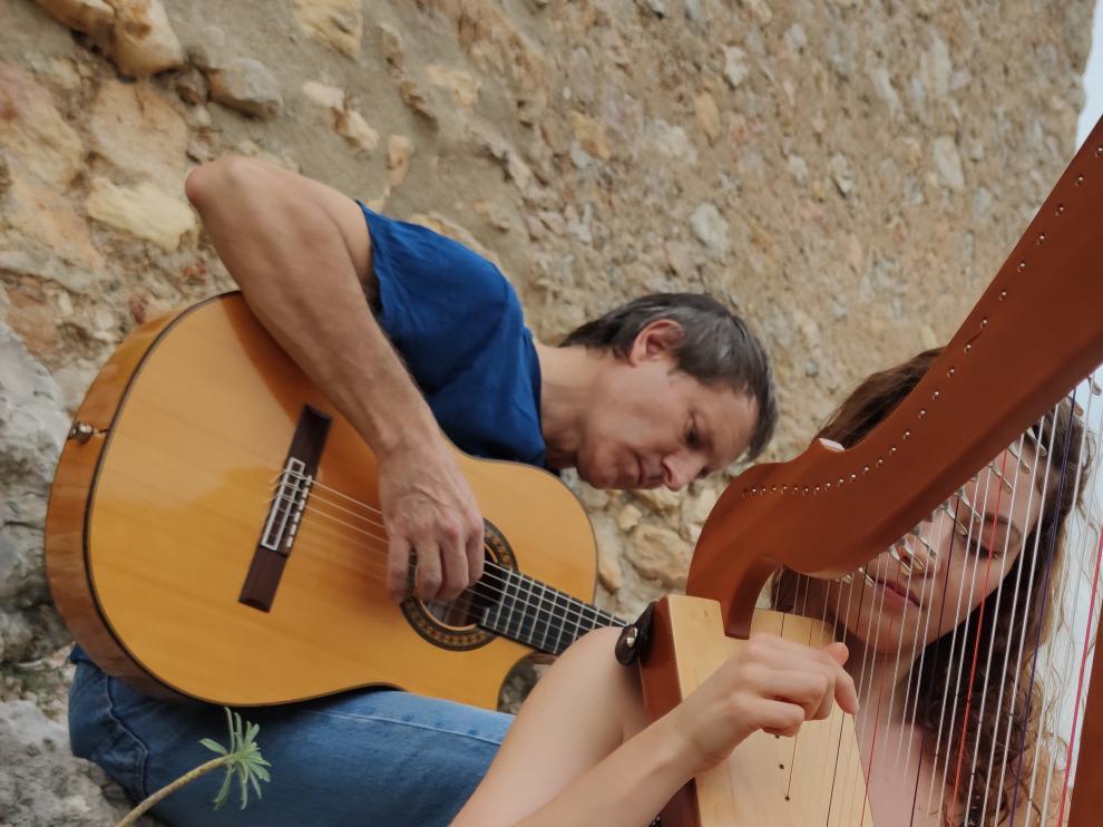 Mia Ramer y Josep-Manel Vega.