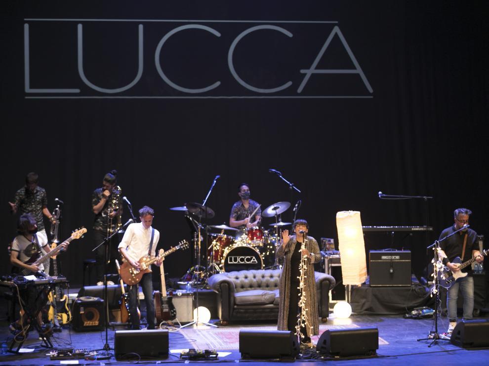 Concierto de dLucca se despidió de los escenarios con un concierto en el Teatro Olimpia.espedida de Lucca en el teatro Olimpia / 03-07-2021 / Foto Rafael Gobantes[[[DDA FOTOGRAFOS]]]