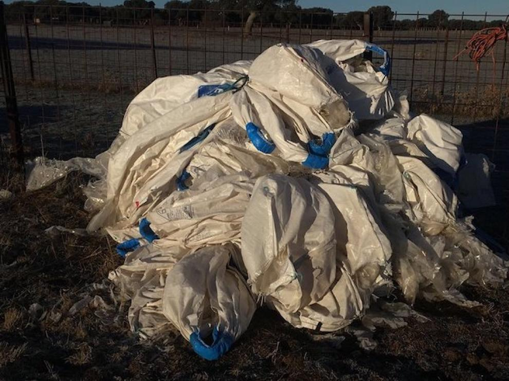 Plásticos procedentes de la agricultura y ganadería