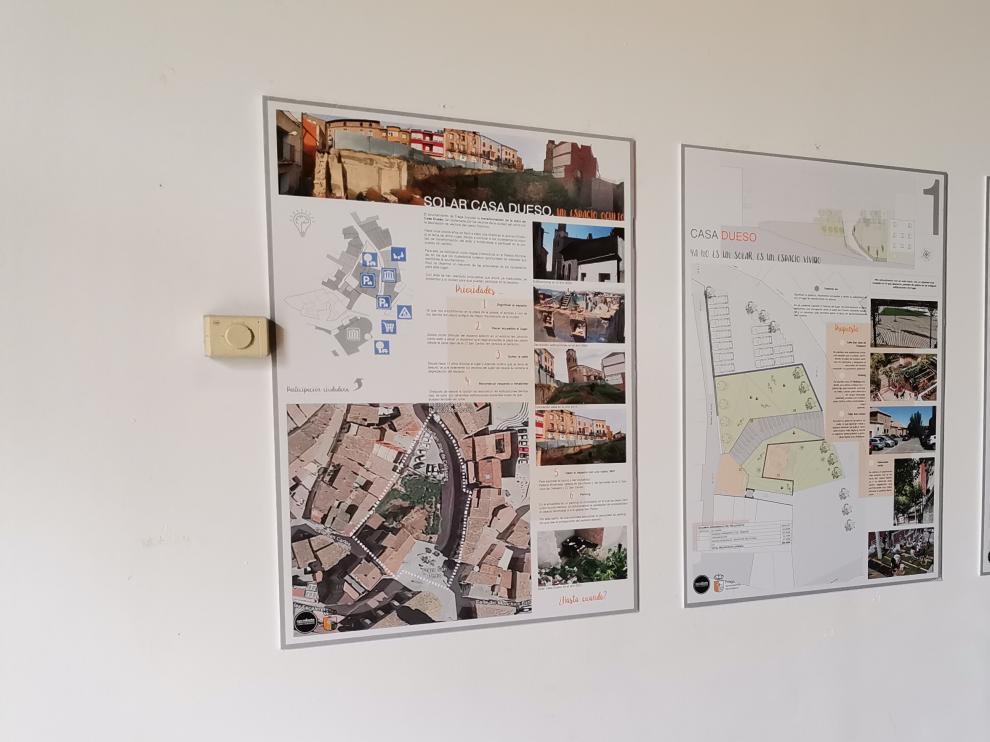 Propuesta del Ayuntamiento de Fraga sobre el solar de Casa Dueso.
