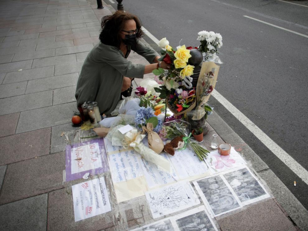 Homenaje a Samuel donde fue brutalmente agredido
