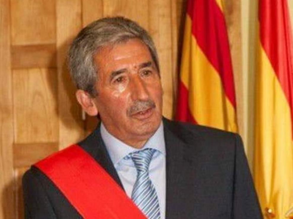 Alfredo Belío, en 2014, cuando tomó posesión como concejal del Ayuntamiento de Jaca.