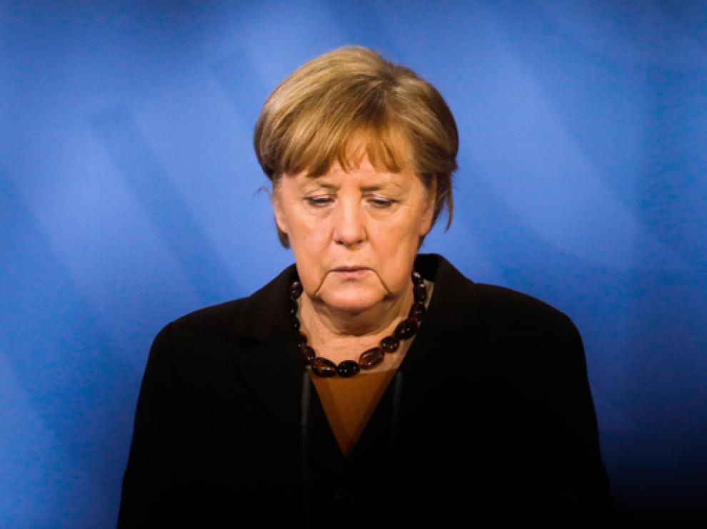 Angela Merkel fue la anfitriona de la cumbre virtual que celebró sobre los Balcanes Occidentales.