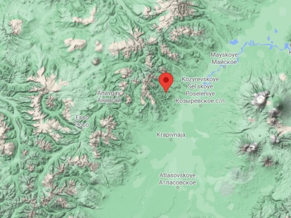 Península de Kamchatka