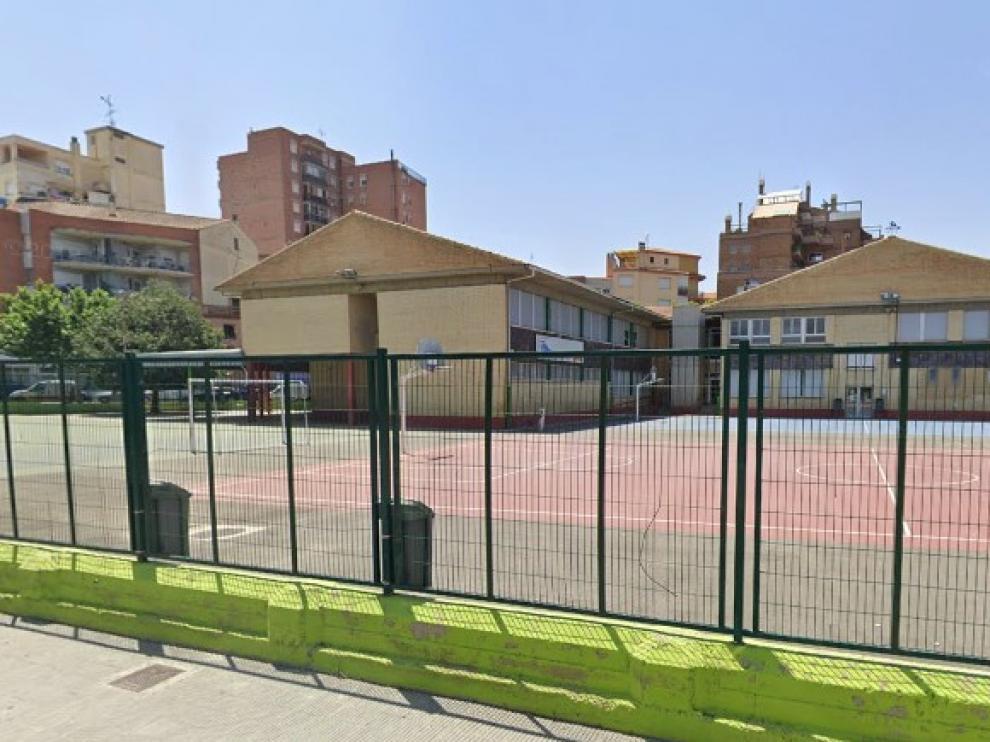 Exterior del colegio San José de Calasanz