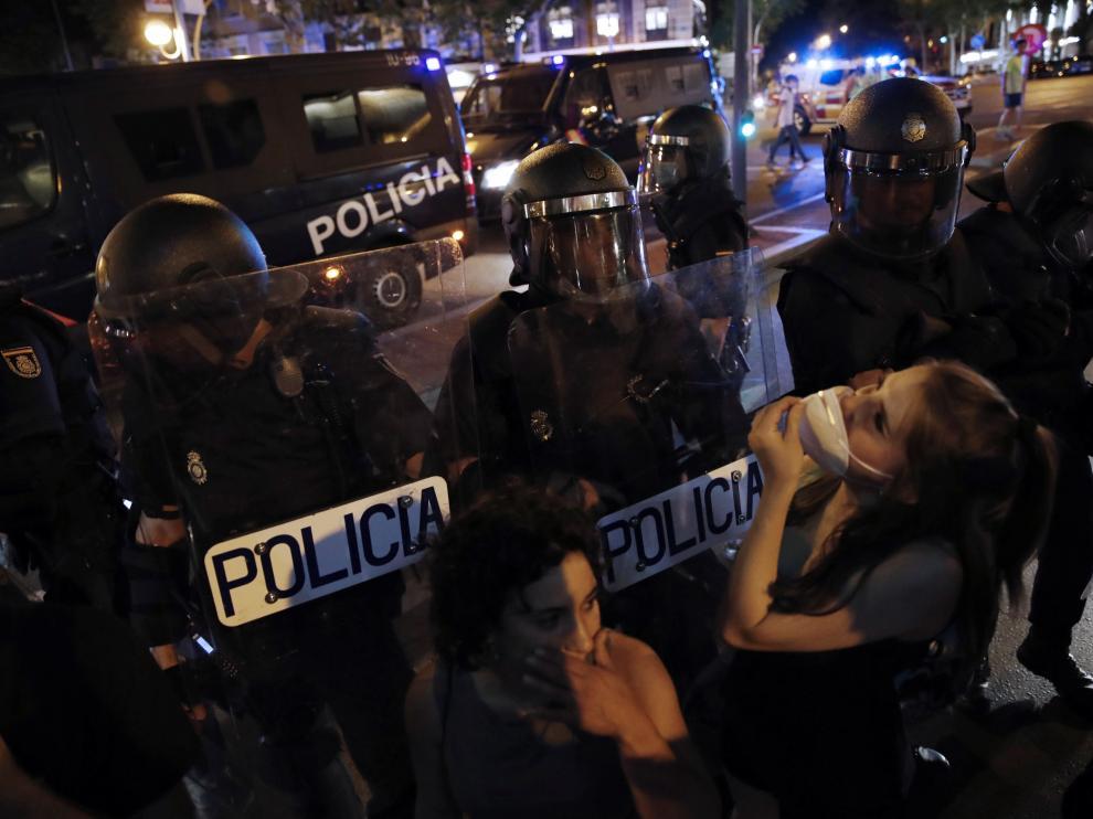 Concentración en Madrid por la muerte violenta del joven Samuel el Galicia.
