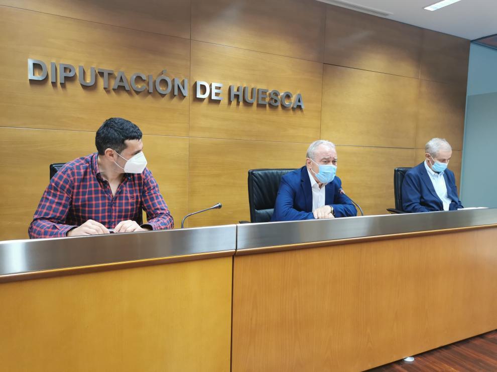 Fernando Sánchez, Miguel Gracia y Jaime Porquet han presentado el Congreso.