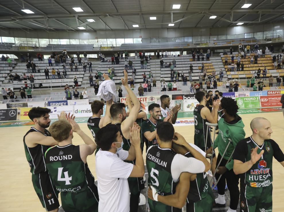 El Levitec Huesca estará una temporada más en Leb Oro tras la permanencia del curso pasado.