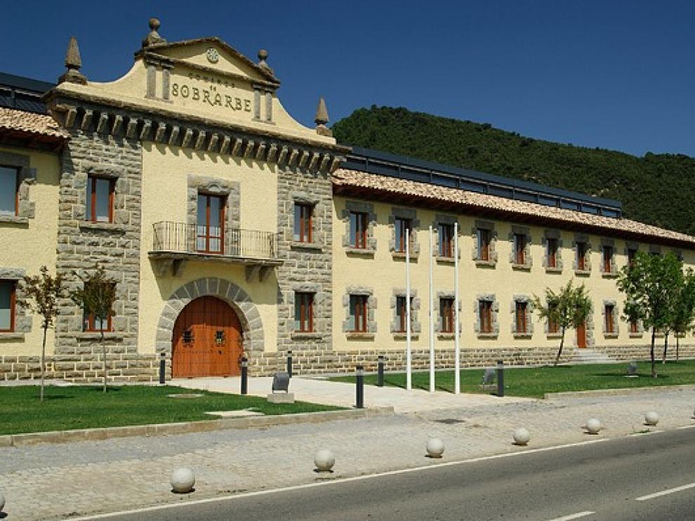 Sede de la comarca de Sobrarbe en Boltaña