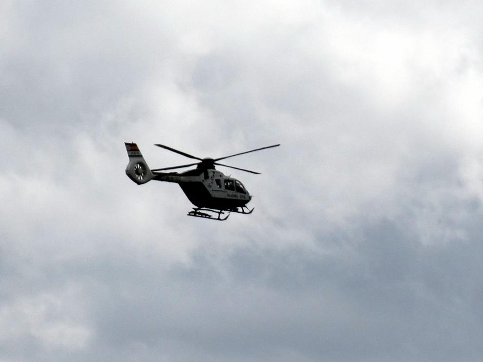 Helicóptero de rescate de la Guardia Civil con base en Huesca