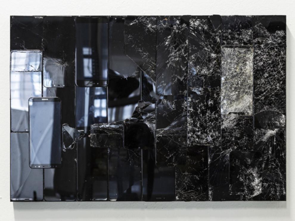 Las obras de Jorge Isla se engloban bajo el título 'Le reflet'.