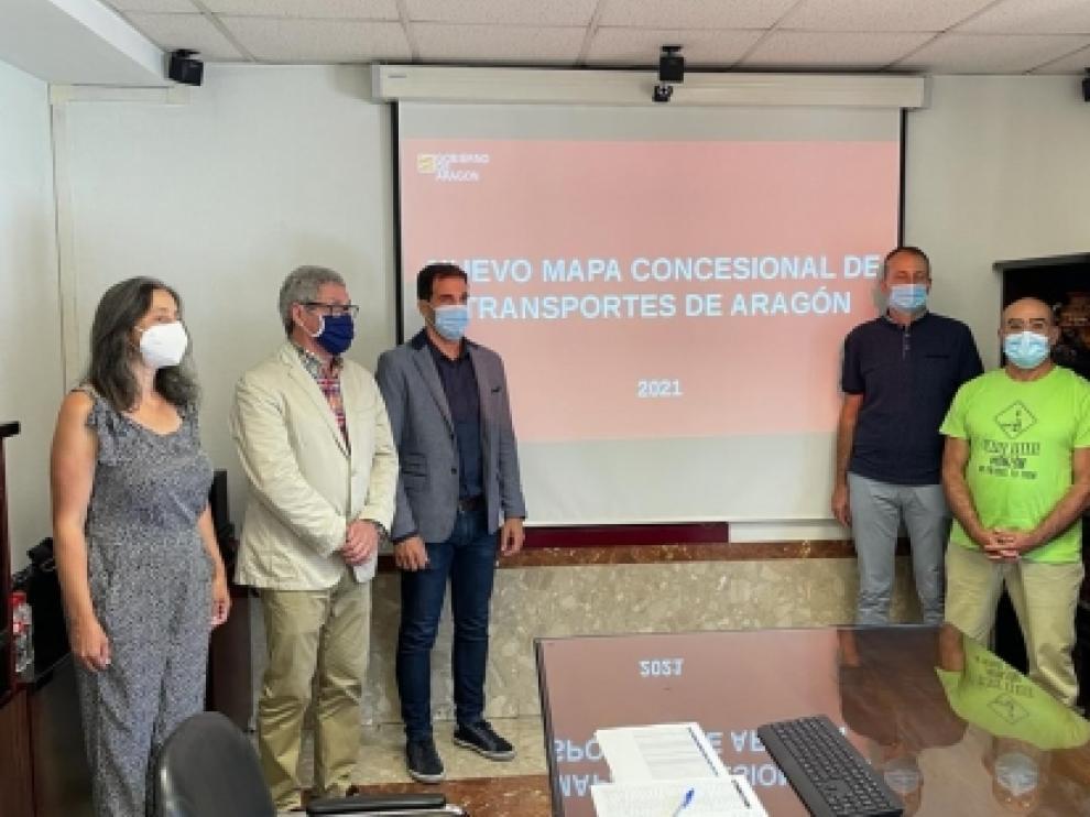 Presentación del nuevo Mapa Concesional de Viajeros en Carretera