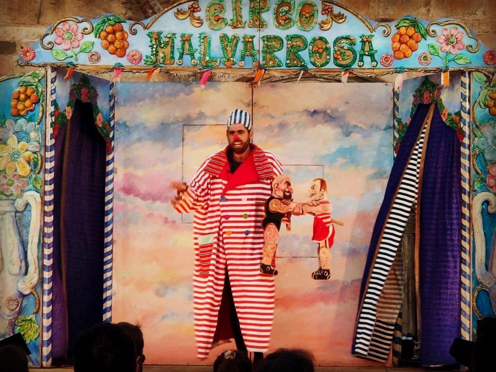 La Casa de los Títeres empieza su programación con Circo Malvarrosa, de Teatro La Estrella.