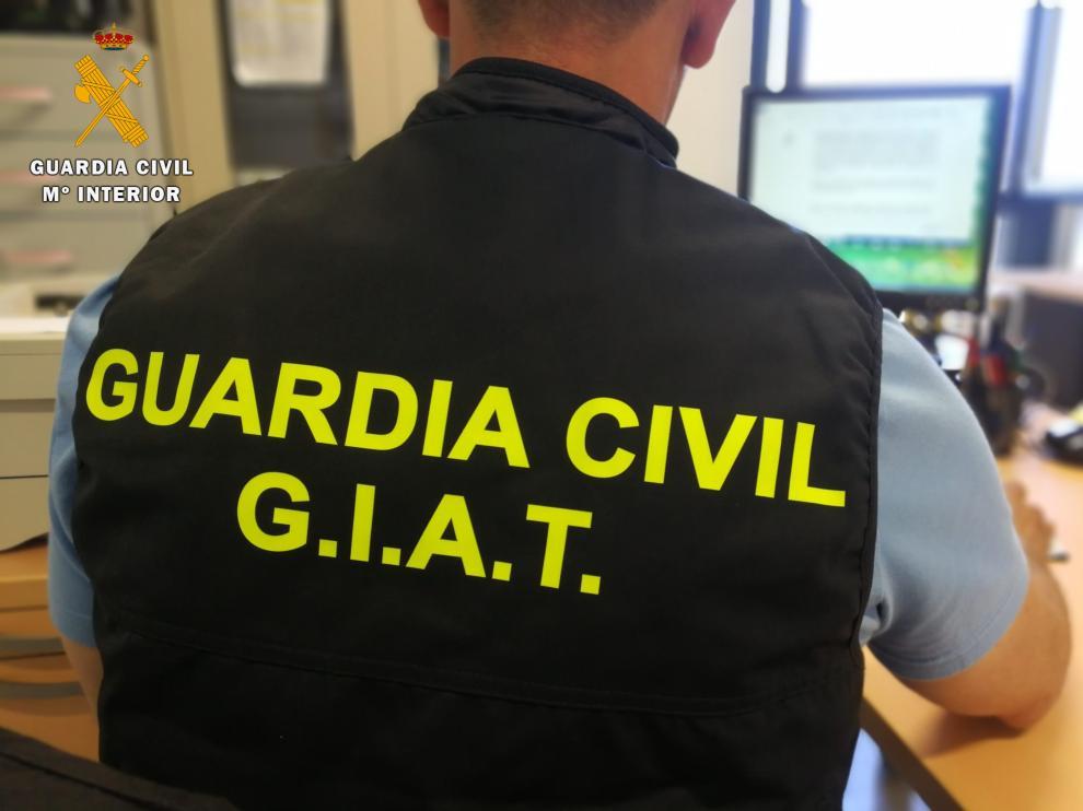 La Guardia Civil de Huesca