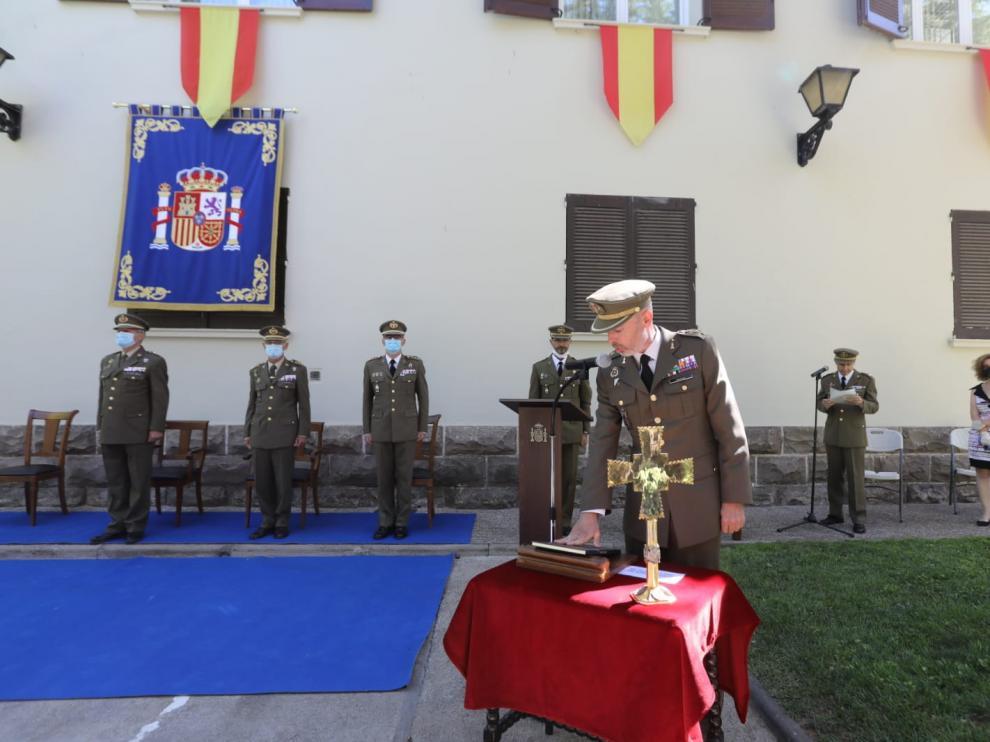 El coronel Rafael Matilla jura el nombramiento de su cargo