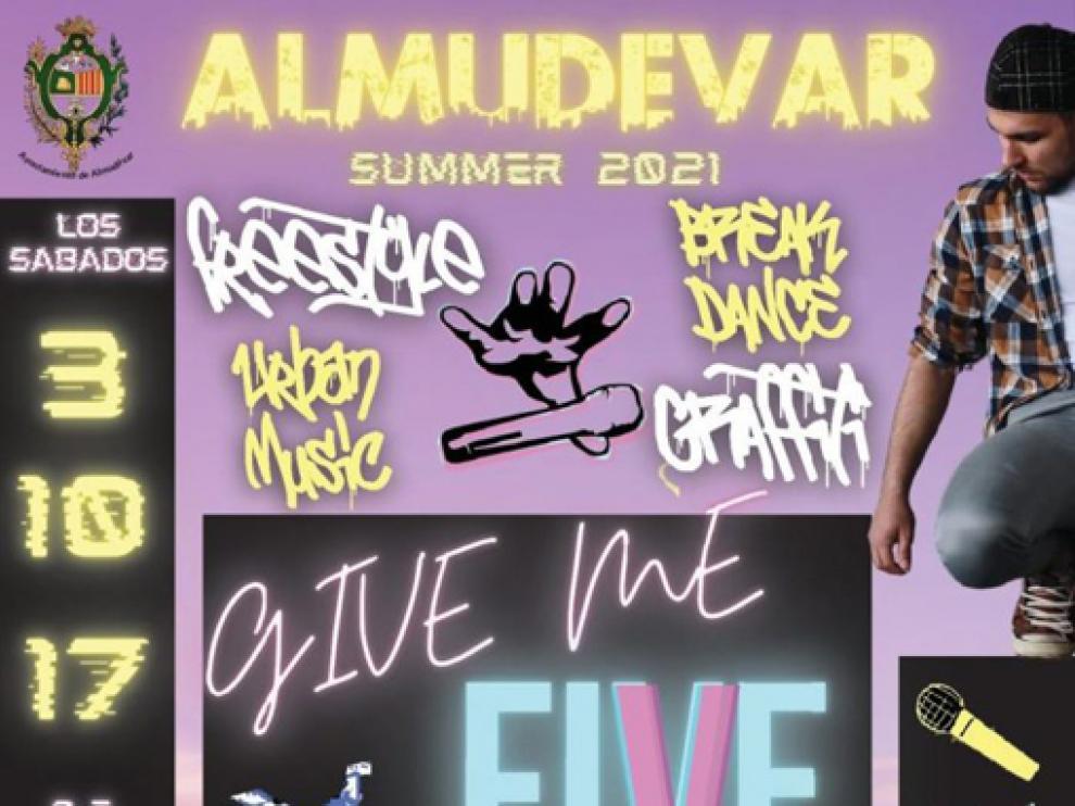 Almudévar celebrará otra sesión del festival Give Me Five!