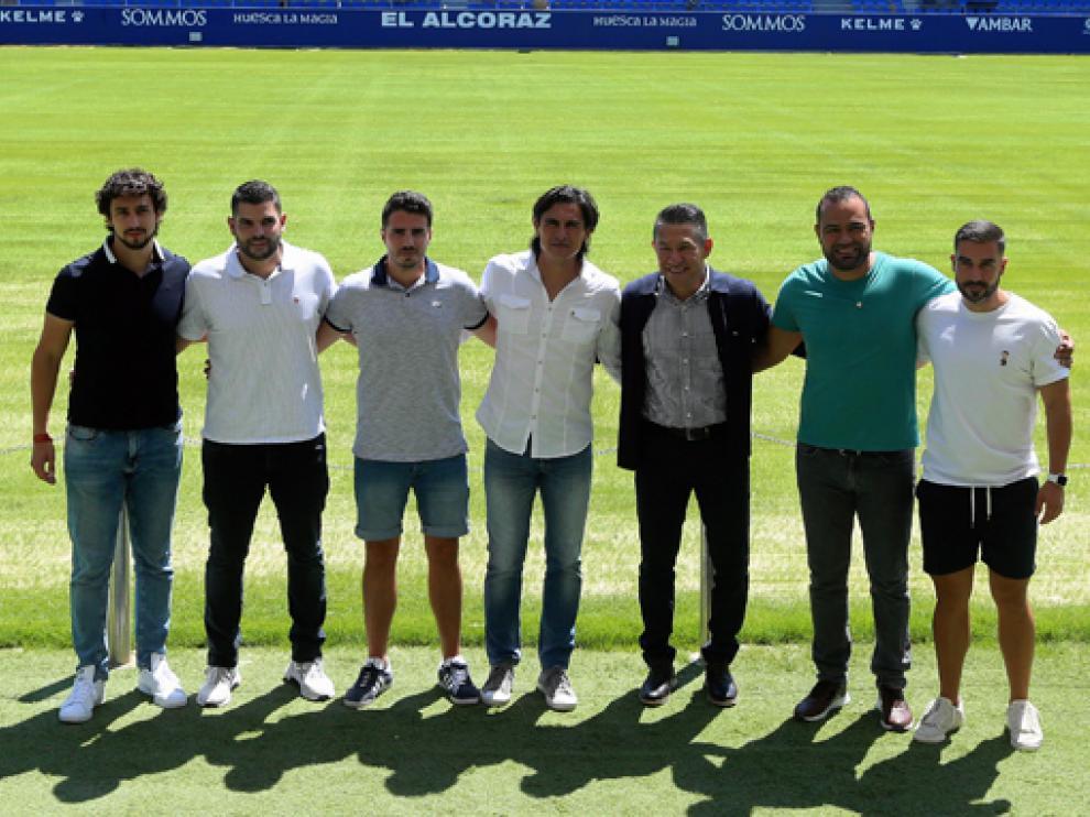 De la Fuente, Mallén, Sipán, Solano, Ambriz, Martínez y Carracedo forman el cuerpo técnico.