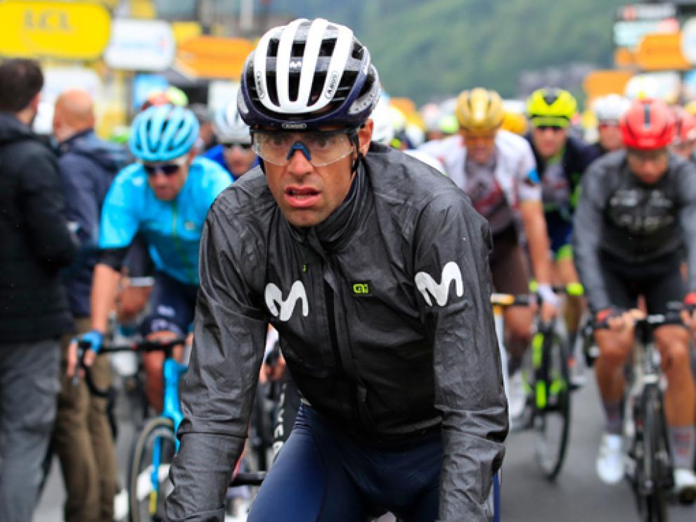 El corredor de Sabiñánigo Jorge Arcas, del equipo español Movistar Team, cumplió ayer 29 años.